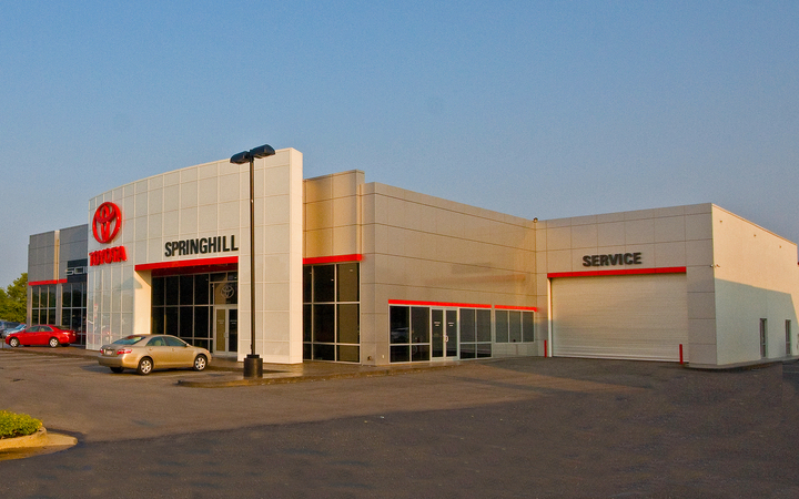 Springhill  Toyota  Renovation 2