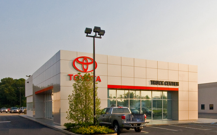Springhill  Toyota  Truck  Center  Renovation  Mobile