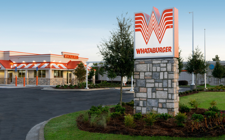 Whataburger Exterior Sign Foreground 1