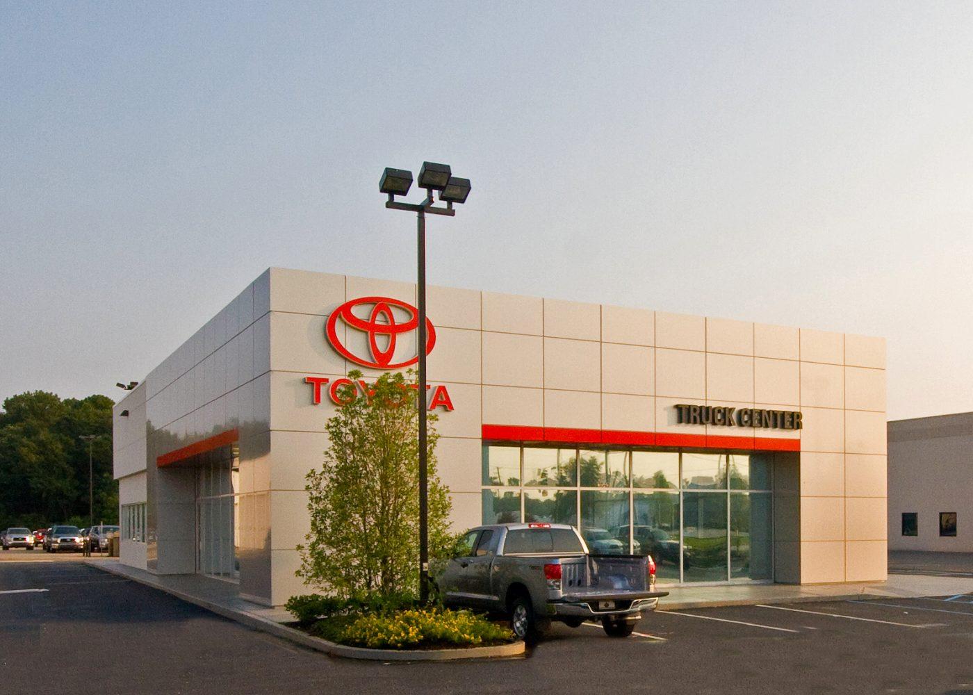 Springhill  Toyota  Truck  Center  Renovation  Mobile